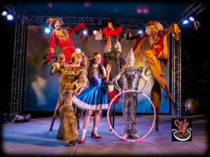 'A Journey to OZ', by Stilt Circus, Directed by Stephen Hues and Starchild.