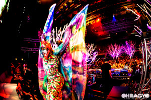 Psychedelic Butterfly at Avaland Hollywood, Avalon, Giant presents: DJ Laidback Luke, California.