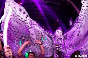 Silver Butterfly, Stephen Hues, Avaland, Avalon Hollywood, CA, 2013; photo by OHDAGYO.