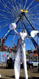 Ventura County Fair 2016, Stephen Hues with Stilt Circus,