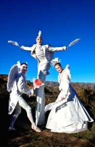 3 Angels on a Mountain, Costumes by Stephen Hues.